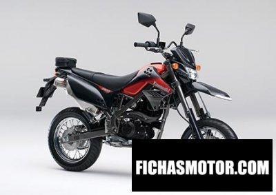 Ficha técnica Kawasaki d-tracker 150 2014