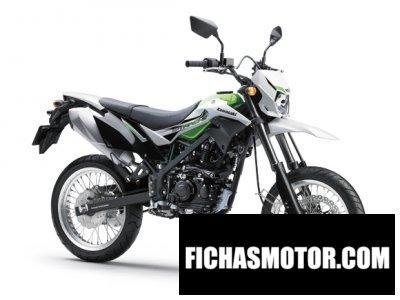 Imagen moto Kawasaki d-tracker año 2016