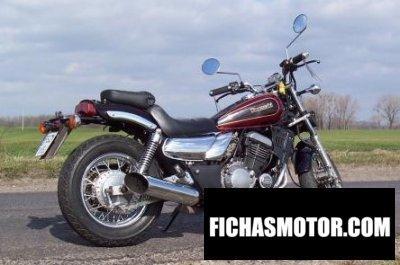 Imagen moto Kawasaki el 250 año 1989