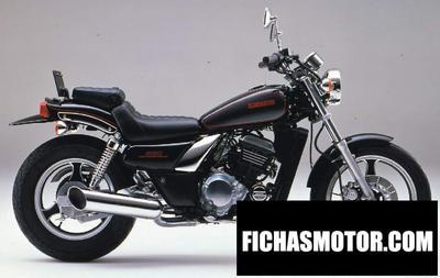 Imagen moto Kawasaki el 250 año 1990