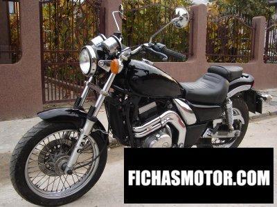 Imagen moto Kawasaki el 252 año 1996