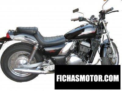 Imagen moto Kawasaki el 252 año 2000