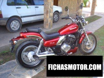 Ficha técnica Kawasaki el250 1993