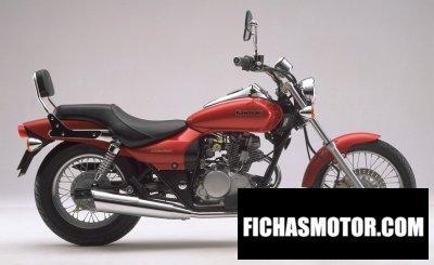 Imagen moto Kawasaki eliminator 125 año 1998