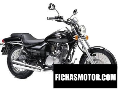 Imagen moto Kawasaki eliminator 125 año 1999