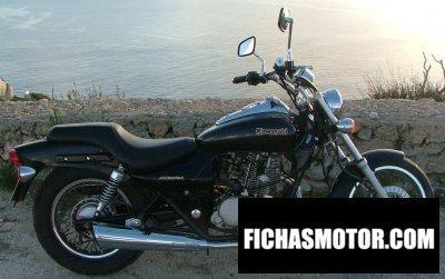 Imagen moto Kawasaki eliminator 125 año 2000