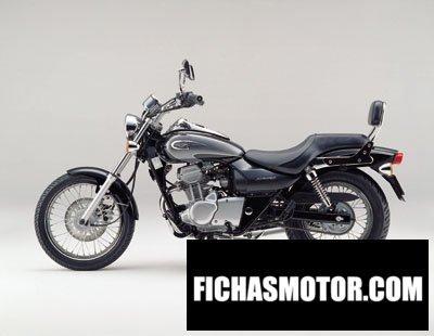 Ficha técnica Kawasaki eliminator 125 2001