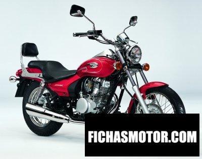 Imagen moto Kawasaki eliminator 125 año 2004