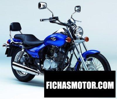 Imagen moto Kawasaki eliminator 125 año 2006