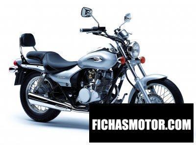 Imagen moto Kawasaki eliminator 125 año 2007