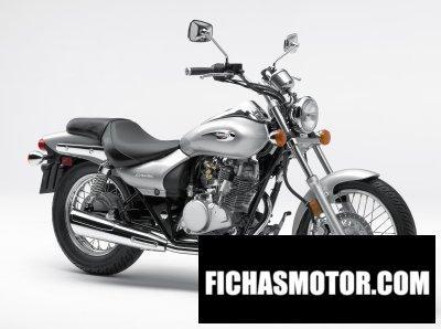 Ficha técnica Kawasaki eliminator 125 2008