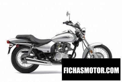 Imagen moto Kawasaki eliminator 125 año 2009