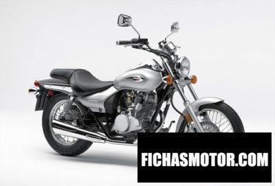 Ficha técnica Kawasaki eliminator 125 2010