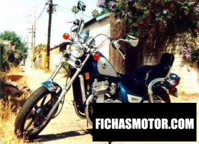 Imagen moto Kawasaki en 500 año 1993