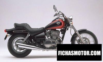 Imagen moto Kawasaki en 500 año 1998