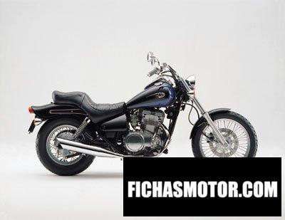 Imagen moto Kawasaki en 500 año 2001