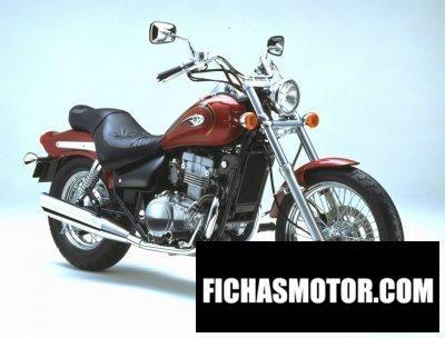 Imagen moto Kawasaki en 500 año 2002
