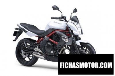 Imagen moto Kawasaki er-4n año 2012