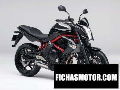 Imagen moto Kawasaki er-4n año 2013