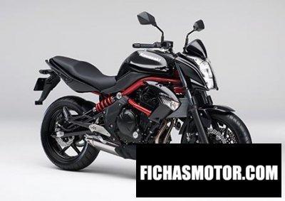 Imagen moto Kawasaki er-4n año 2014
