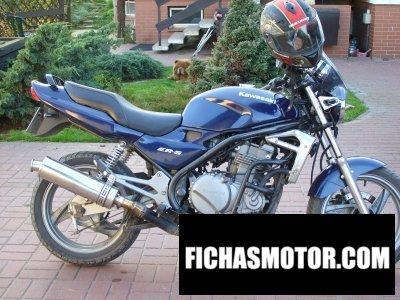 Imagen moto Kawasaki er-5 año 1997