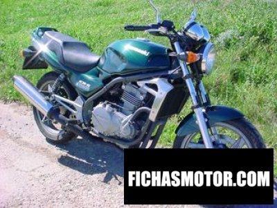 Ficha técnica Kawasaki er-5 twister 2000