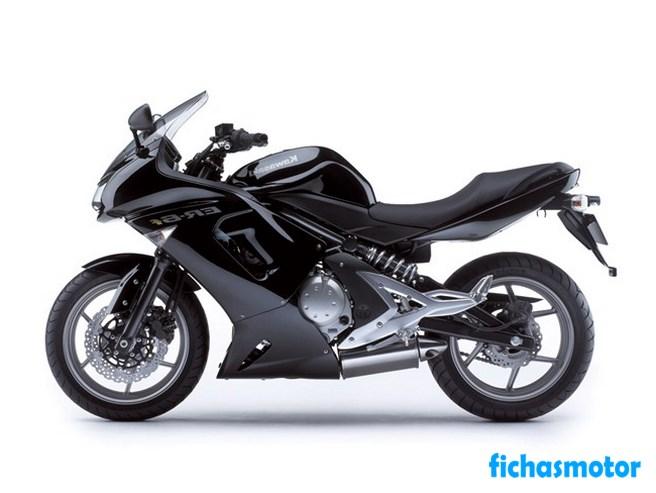 Imagen moto Kawasaki er-6f año 2007