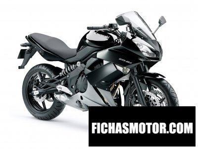 Imagen moto Kawasaki er-6f año 2010