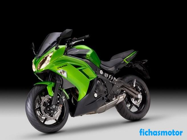 Imagen moto Kawasaki er-6f año 2012