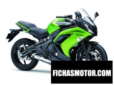 Ficha técnica Kawasaki er-6f 2013