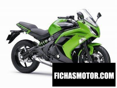Imagen moto Kawasaki er-6f año 2015