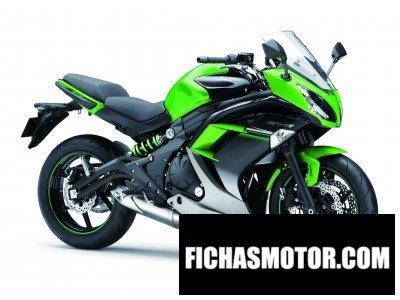 Ficha técnica Kawasaki er-6f 2016