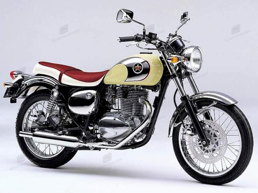 Imagen moto Kawasaki esterella rs año 1998