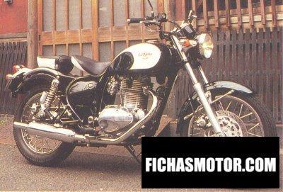Imagen moto Kawasaki estrella año 1999