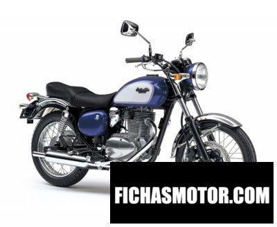 Imagen moto Kawasaki estrella año 2011
