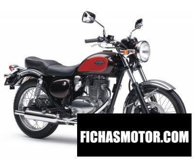 Imagen moto Kawasaki estrella 250 año 2012