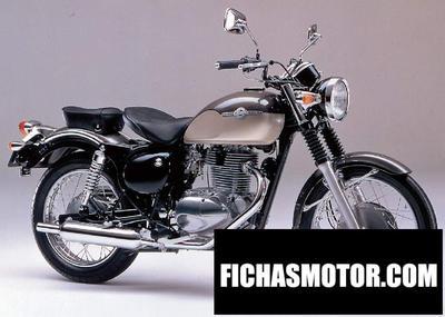 Imagen moto Kawasaki estrella rs año 1997