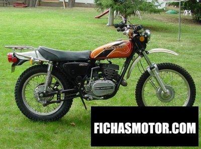 Imagen moto Kawasaki f-11 250b año 1975
