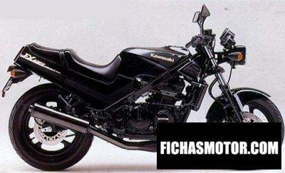 Imagen moto Kawasaki fx 400 r año 1989