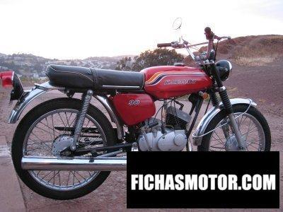 Ficha técnica Kawasaki g3ss 1972