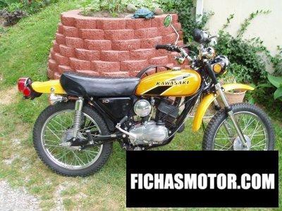 Ficha técnica Kawasaki g5 100 1975