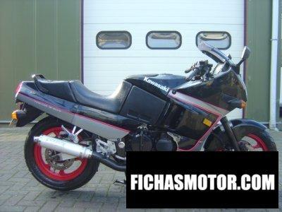 Imagen moto Kawasaki gpx 600 r año 1989