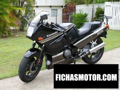 Imagen moto Kawasaki gpx 600 (zx600c2) año 1989