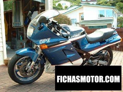 Ficha técnica Kawasaki gpz 1000 rx 1986