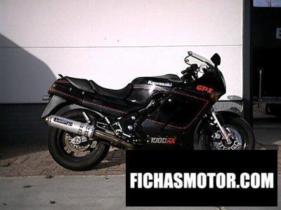 Imagen moto Kawasaki gpz 1000 rx año 1988