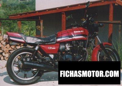 Imagen moto Kawasaki gpz 1100 año 1986