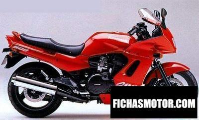 Imagen moto Kawasaki gpz 1100 año 1987