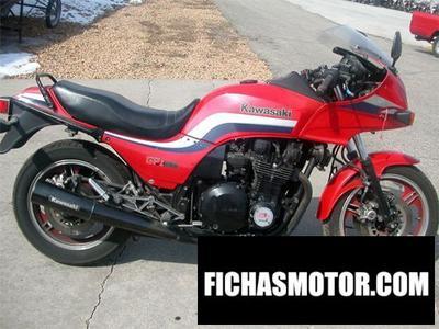 Ficha técnica Kawasaki gpz 1100 1988