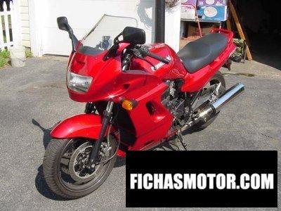 Imagen moto Kawasaki gpz 1100 año 1995