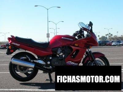 Imagen moto Kawasaki gpz 1100 año 1996